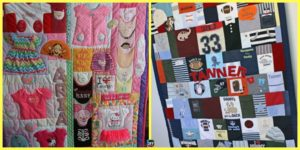 diy4ever- How to DIY Memory Baby Clothes Quilts