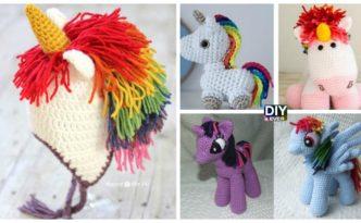 10 Cutest Crochet Unicorn Free Patterns