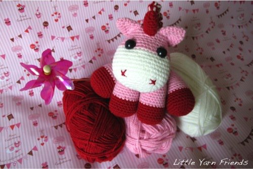 10 Cutest Crochet Unicorn Free Patterns 2