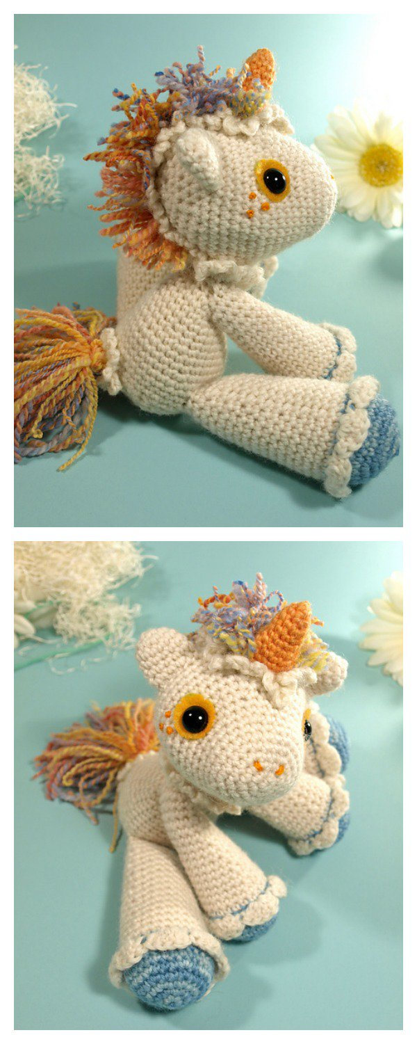 10 Cutest Crochet Unicorn Free Patterns3