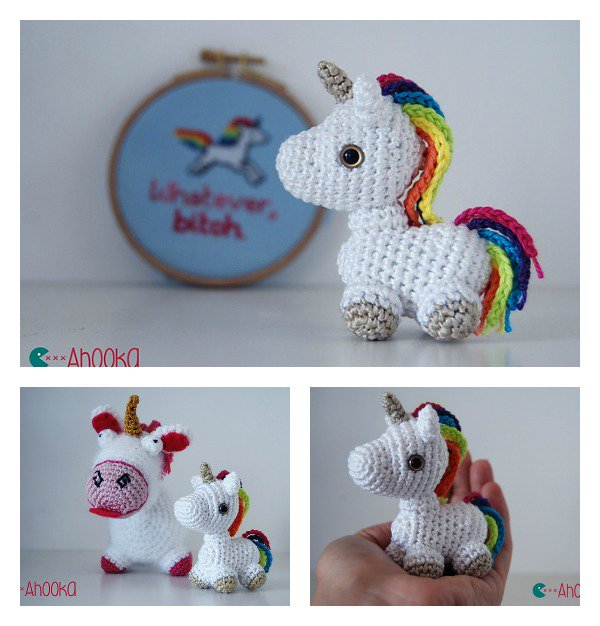 10 Cutest Crochet Unicorn Free Patterns4