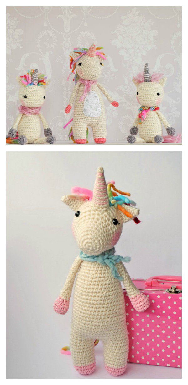 10 Cutest Crochet Unicorn Free Patterns5