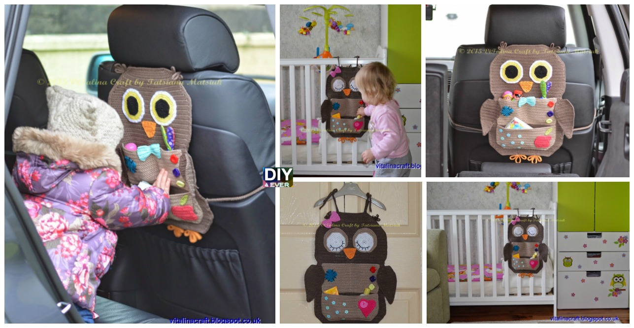 Crochet Owl Treasure Organizer Pattern