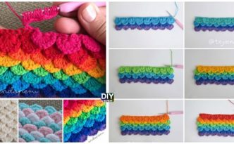 Crochet Sequins Stitch - Free Pattern & Video