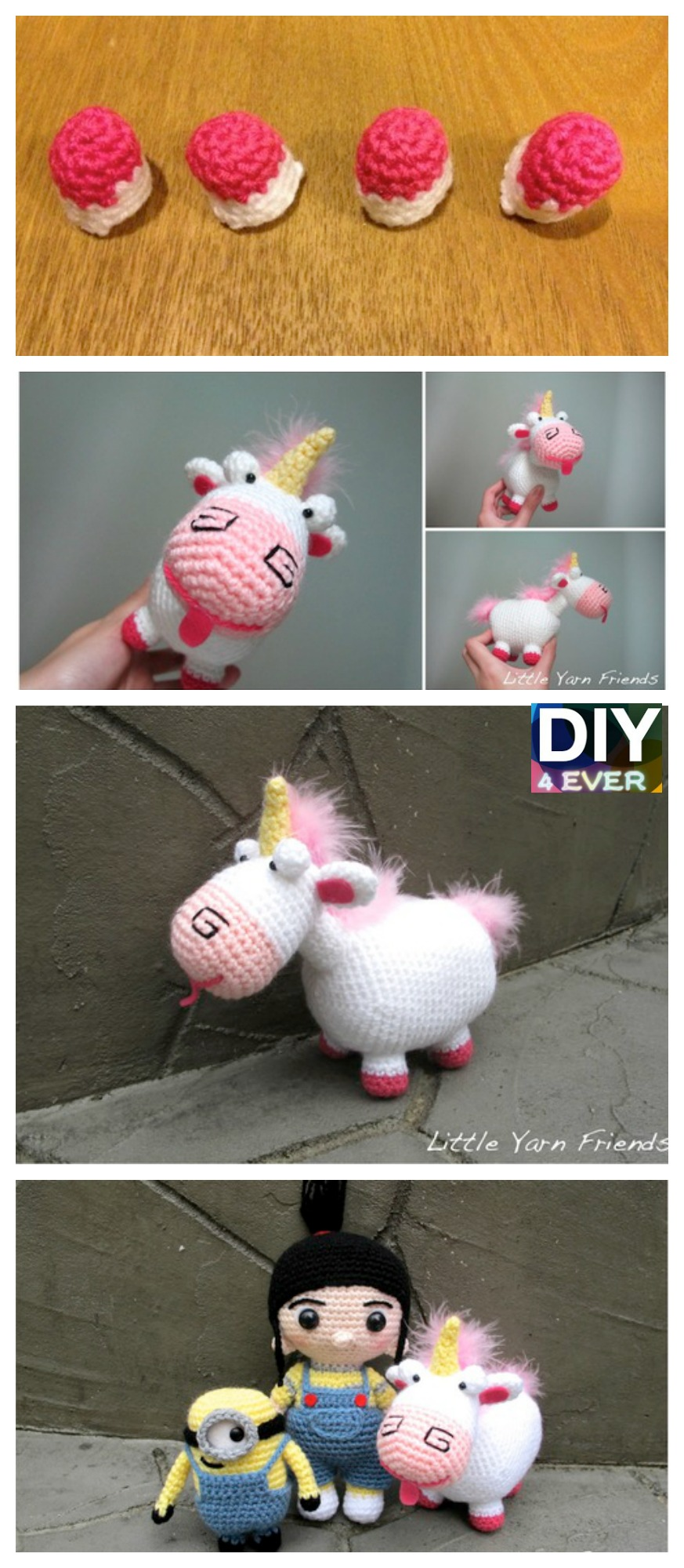 10 Cutest Crochet Unicorn Free Patterns8