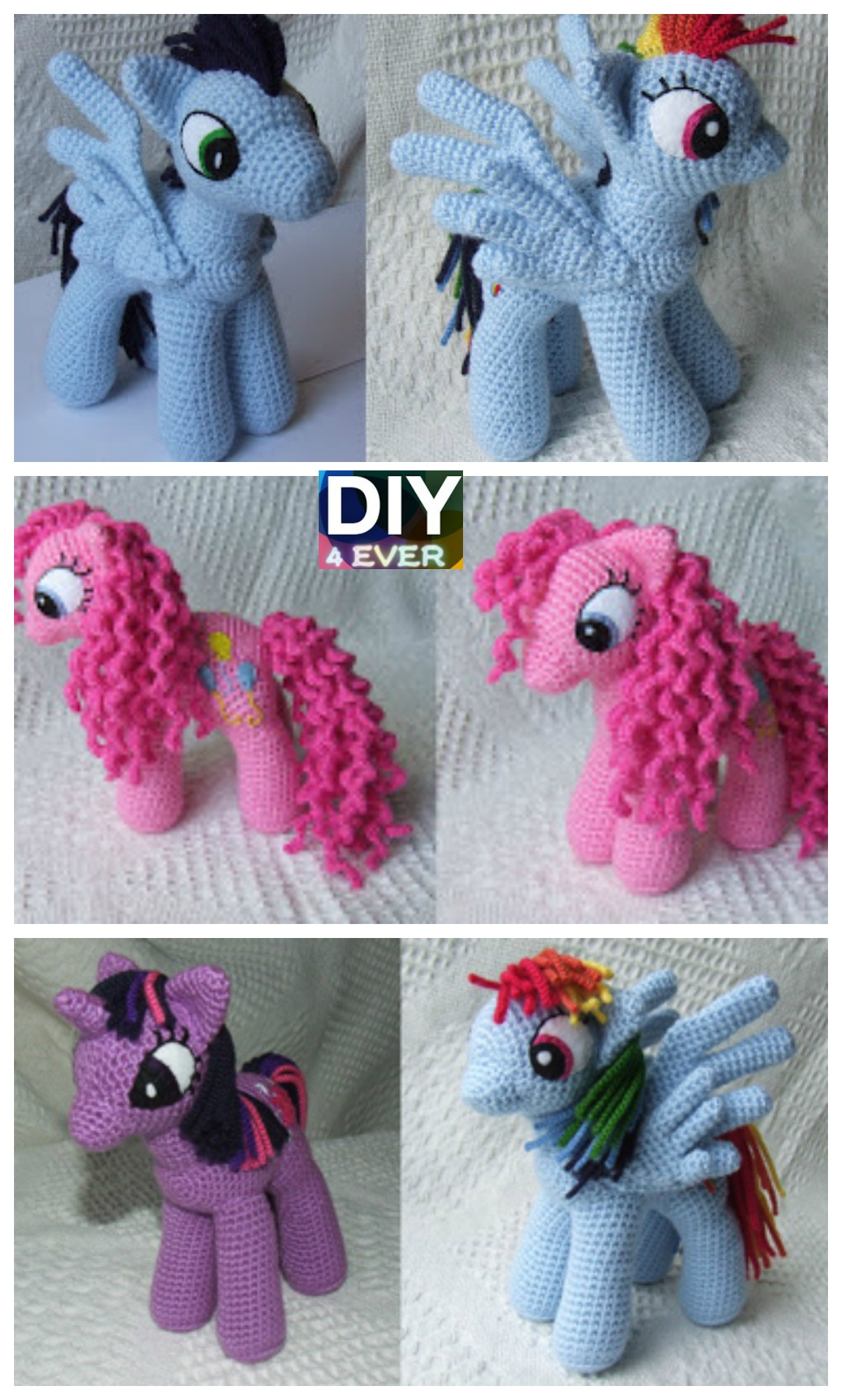 10 Cutest Crochet Unicorn Free Patterns6