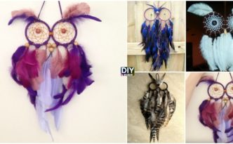 DIY Owl Dream Catchers -Video Tutorial