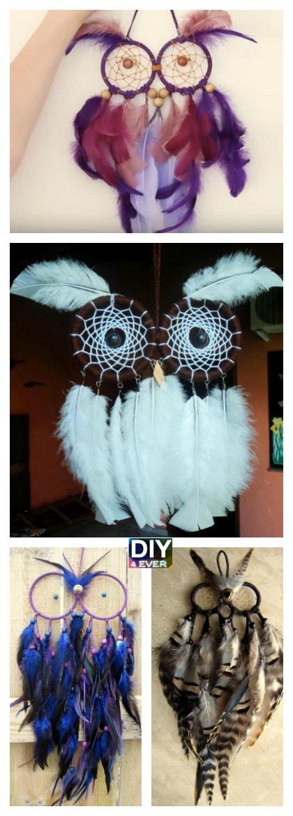 DIY Owl Dream Catchers- Video Tutorial