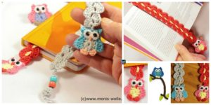 diy4ever- Crochet Owl Bookmark Patterns