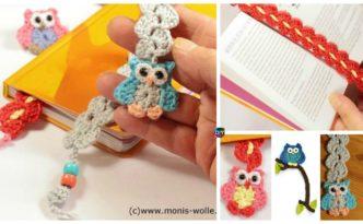 diy4ever- Crochet Owl Bookmark Patterns