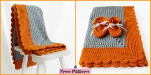 diy4ever- Crochet Starburst Baby Blanket - Free Pattern