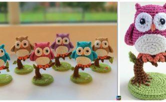 diy4ever- Easiest Crochet Owl for Beginners - Free Pattern