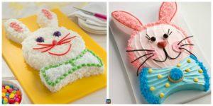 diy4ever-Easy DIY Easter Bunny Cake Tutorial