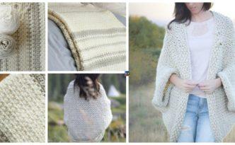 diy4ever- Woven Look Crochet Blanket - Free Patern