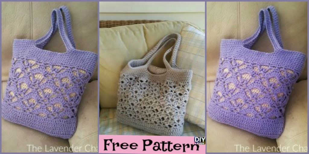 Creative Crochet Tote Bags Free Pattern Diy 4 Ever