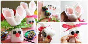 DIY4ever- Cute DIY Egg Easter Bunnies
