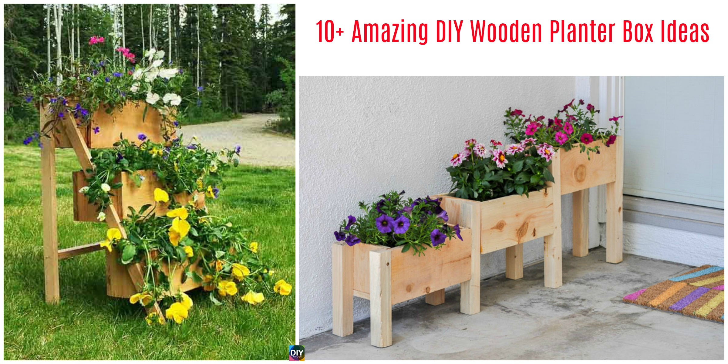 a and to planter decorations decoration wooden diy bench build making stunning garden concept plans of box design how trends