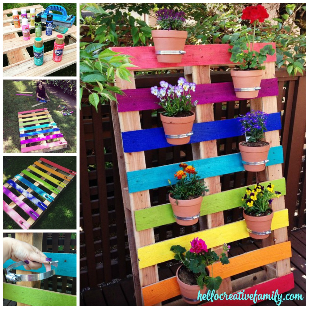 10 Best DIY Pallet Planter Ideas & Tutorials2