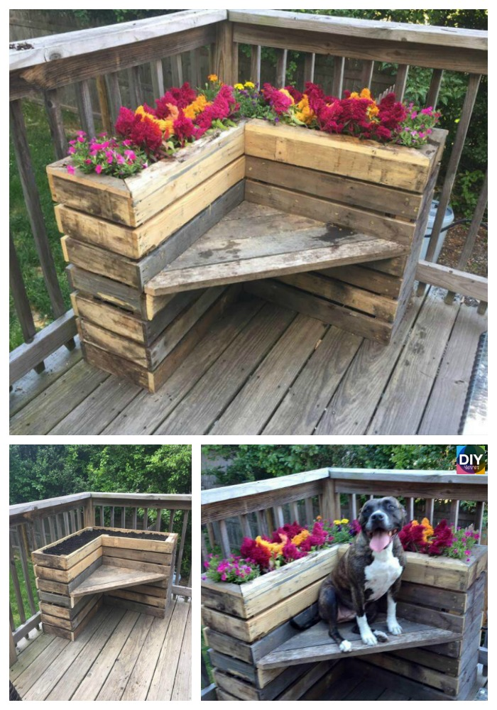 10 Best DIY Pallet Planter Ideas & Tutorials4
