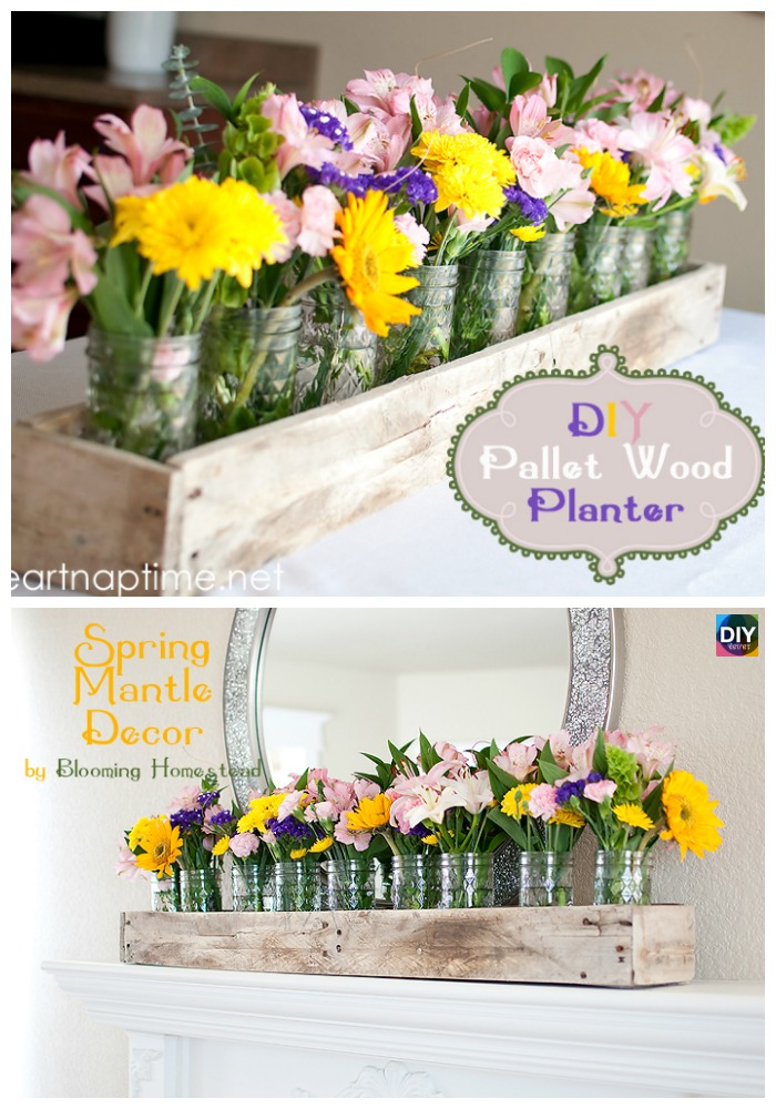 10 Best DIY Pallet Planter Ideas & Tutorials5
