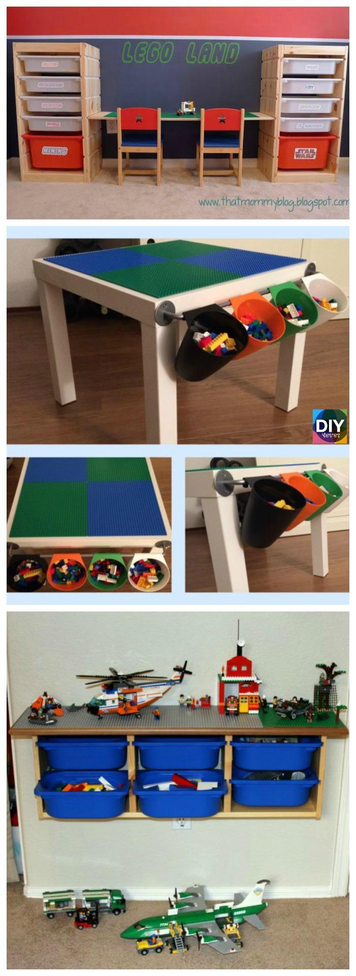 diy4ever- Creative DIY Lego Table Ideas