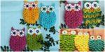 diy4ever-Crochet Crocodile Stitch Owls -free & paid pattern/video