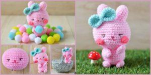 diy4ever- Crochet Easter Bunny Amigurumi - Free Pattern