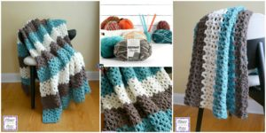 diy4ever- Crochet Family Room Throw - Free Pattern