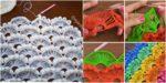 diy4ever- Crochet Fan Stitch-Step-By-Step-Tutorials