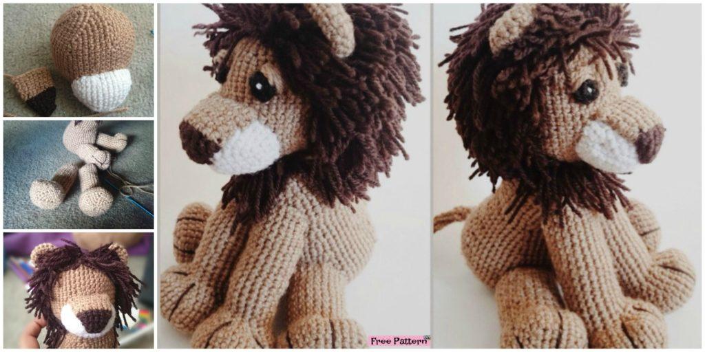 Crochet Lion Amigurumi Free Pattern Diy 4 Ever