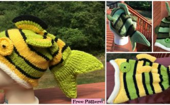 diy4ever- Knitted Fish Hat - Free Pattern