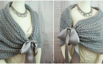 diy4ever- Perfect Crochet Wedding Wrap Pattern