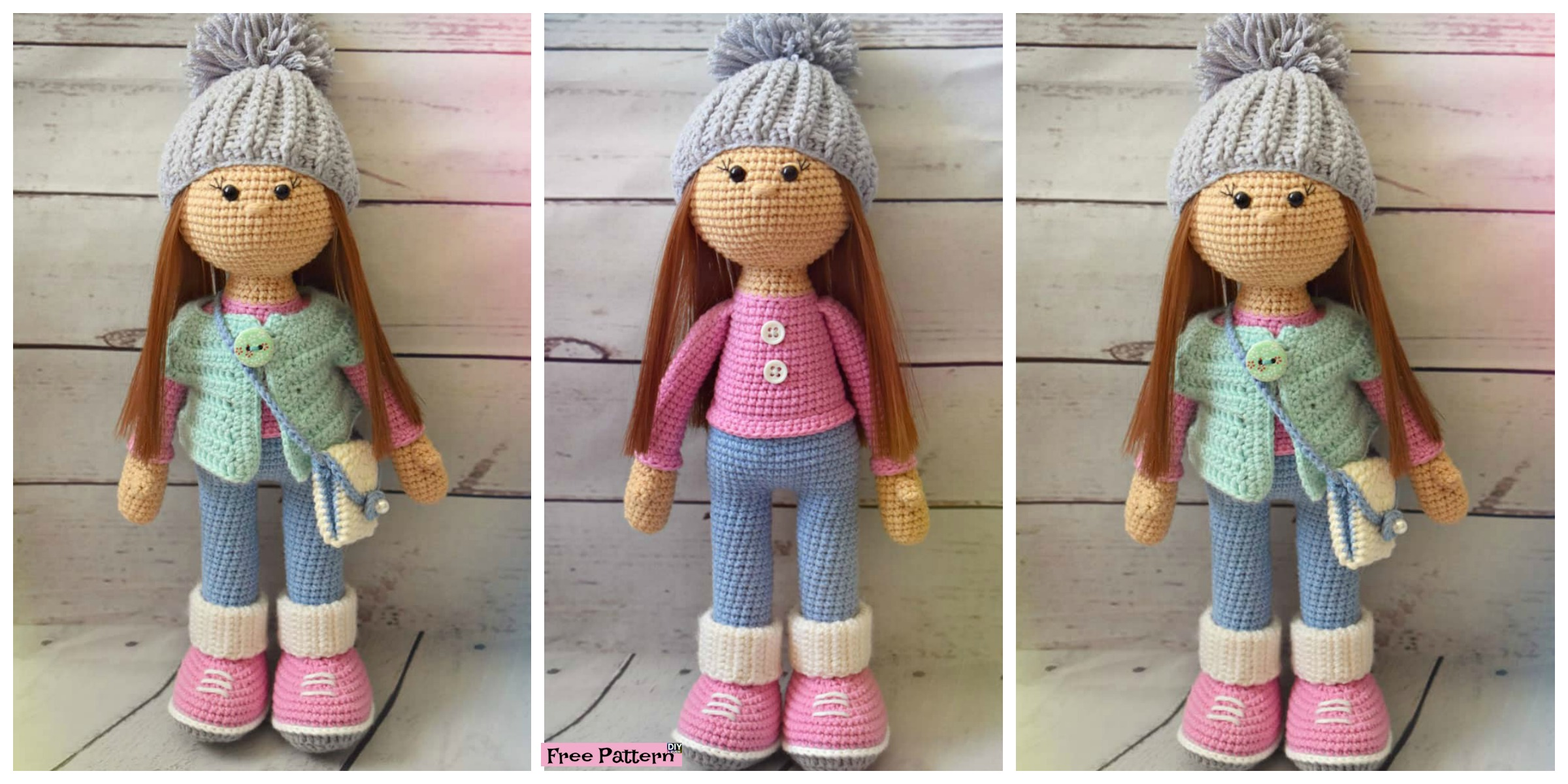Adorable Crochet Molly Doll - Free Pattern - DIY 4 EVER
