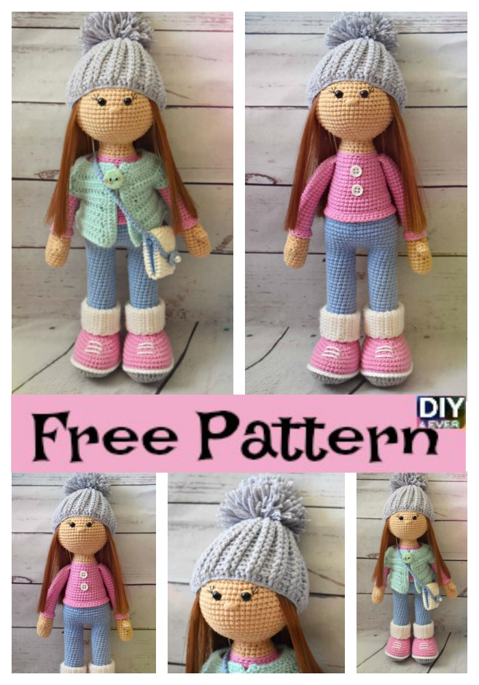 Adorable Crochet Molly Doll Free Pattern Diy 4 Ever