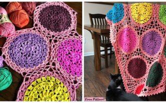 diy4ever- Unique Crochet Self Love Blanket - Free Pattern