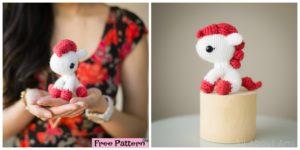 diy4eve- Adorable Crochet Pony - Free Pattern