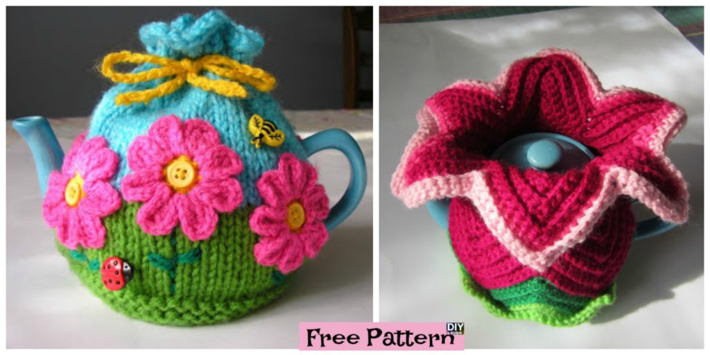 Colorful Crochet Tea Cosy Free Patterns Diy 4 Ever