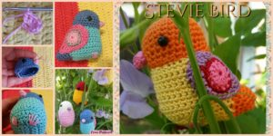 diy4ever- Crochet Bird Amigurumi - Free Pattern