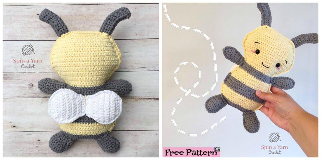 Cute Crochet Bumble Bee Free Pattern Diy 4 Ever
