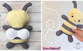 diy4ever- Crochet Bumble Bee - Free Pattern