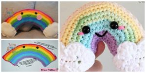 diy4ever- Crochet Rainbow Cuddler - Free Pattern