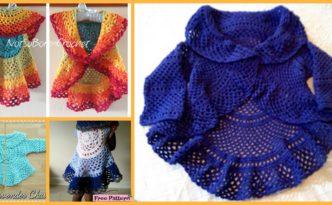 diy4ever -Crochet Ring Around Rosie Sweater & Vest - Free Pattern