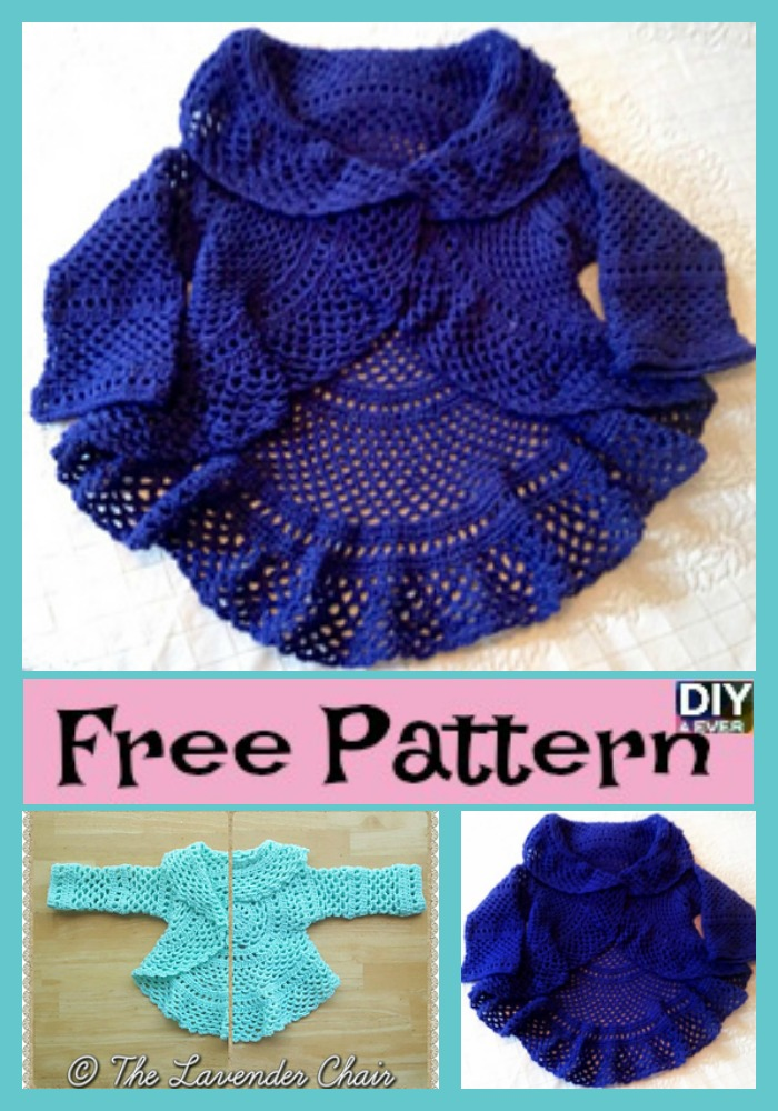 diy4ever -Crochet Ring Around Rosie Sweater & Vest - Free Pattern