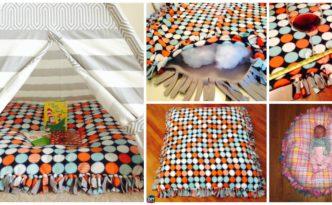 diy floor pillow Archives - DIY 4 EVER