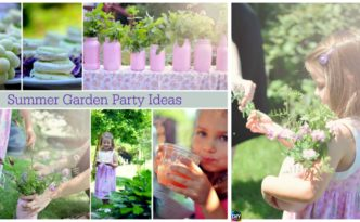 diy4ever- DIY Girls' Summer Garden Party Ideas