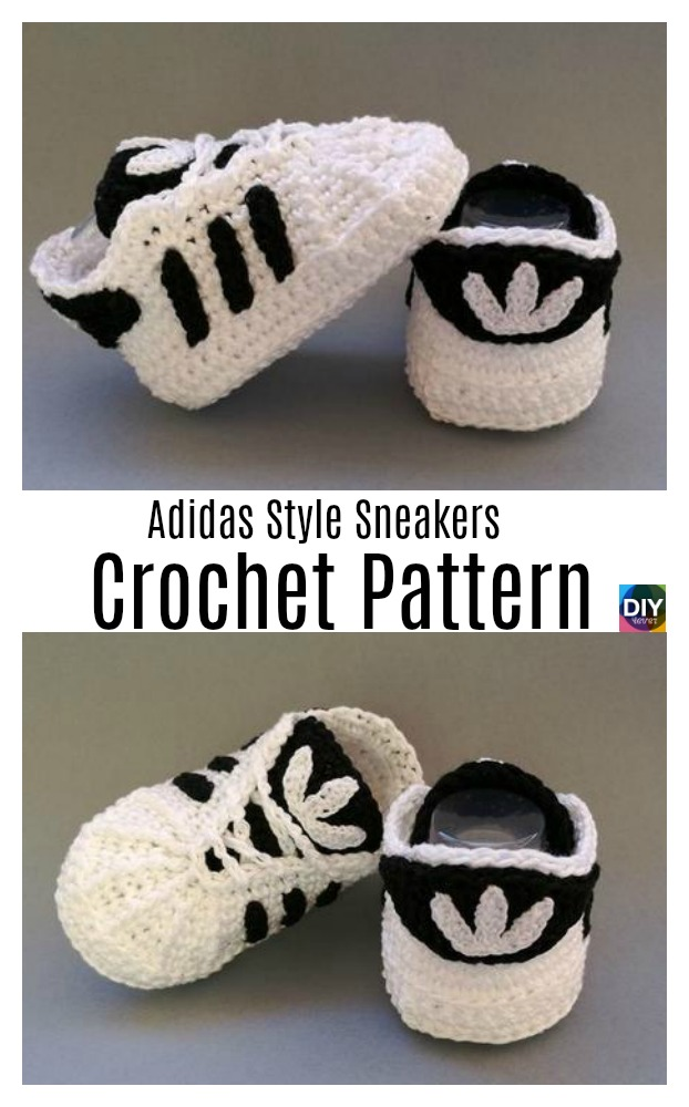 DIY4ever- Crochet Adidas Sneakers Pattern