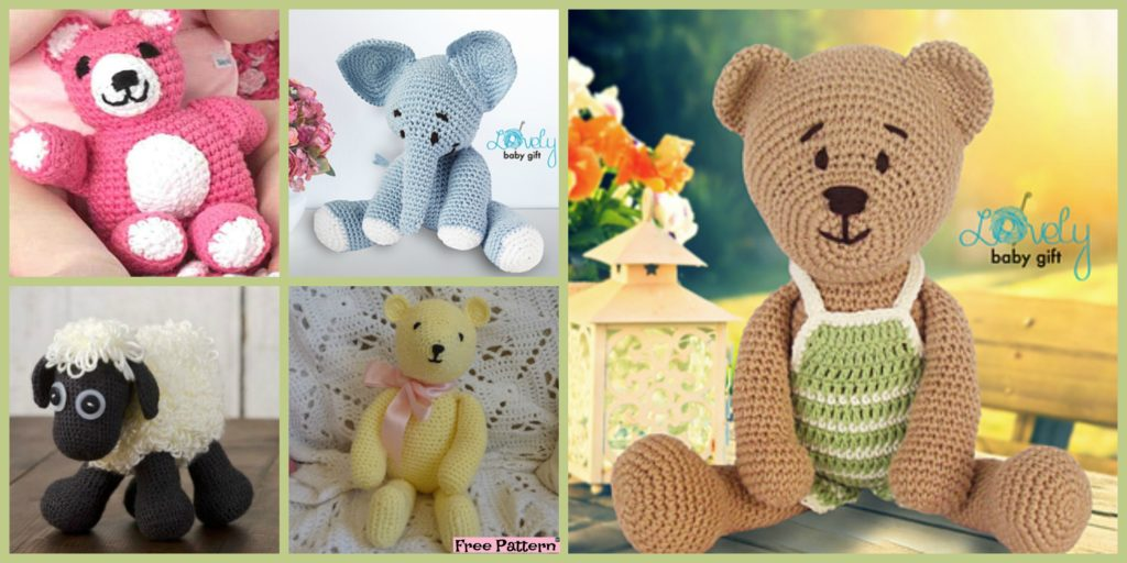 6 Crochet Amigurumi Animal Free Patterns Diy 4 Ever