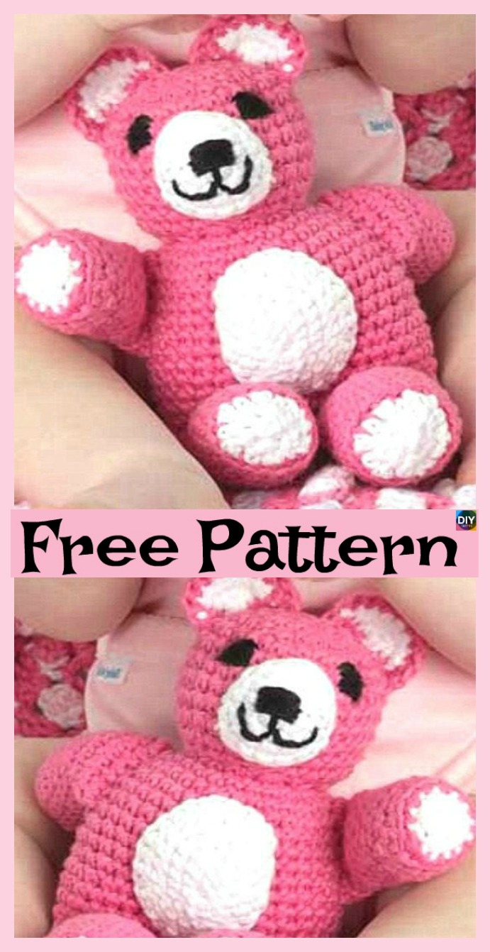 diy4ever-6 Cute Crochet Amigurumi Animal Free Patterns