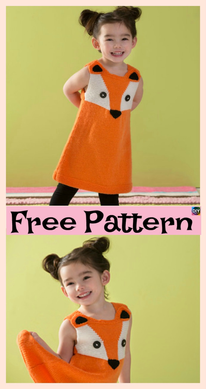 diy4ever- 8 Stylish Knitted Dress - Free Patterns P