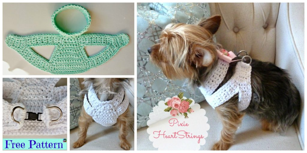 diy4ever Crocheted Dog Harness Free Pattern F 1024x512 crocheted dog harness free pattern diy 4 ever